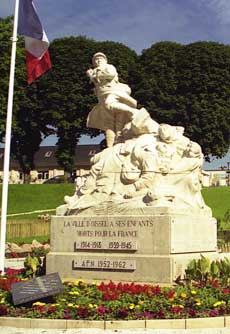 Photo du monument aux morts